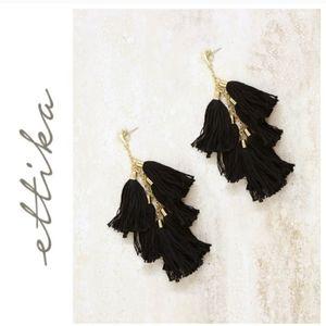 Ettika Daydreamer Tassel Earrings